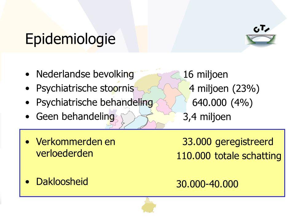 www.psychiatrieweb.nl / www.criticaltime.nl Epidemiologie Nederlandse bevolking Psychiatrische stoornis Psychiatrische behandeling Geen behandeling 16