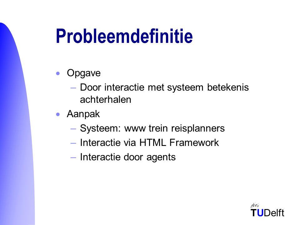 TUDelft Interactie -> model systeem interface interactie model
