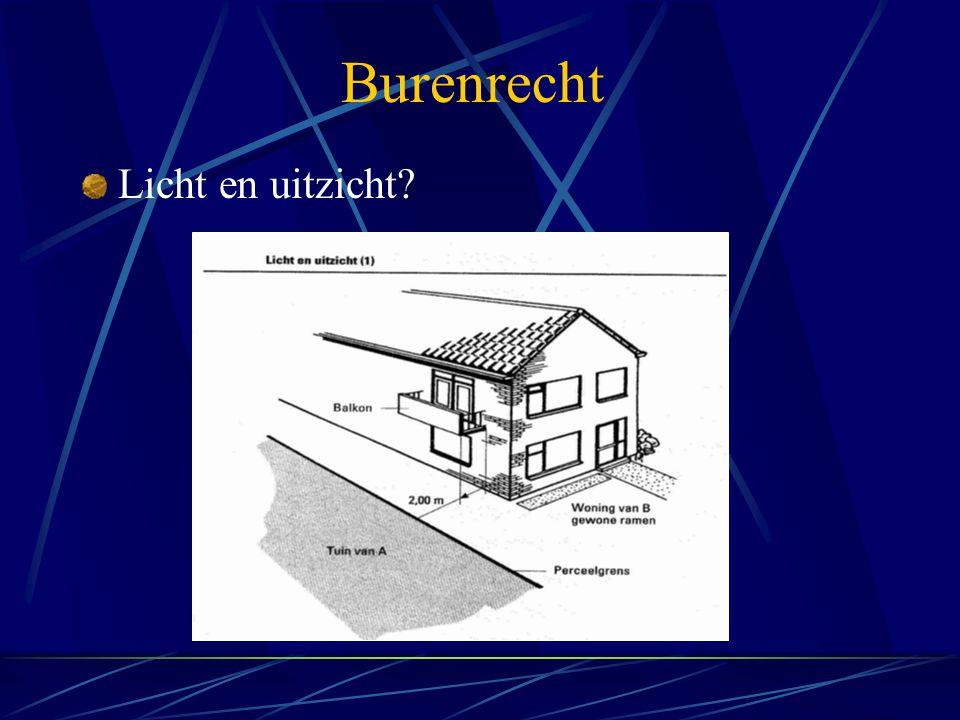 Burenrecht Licht en uitzicht?