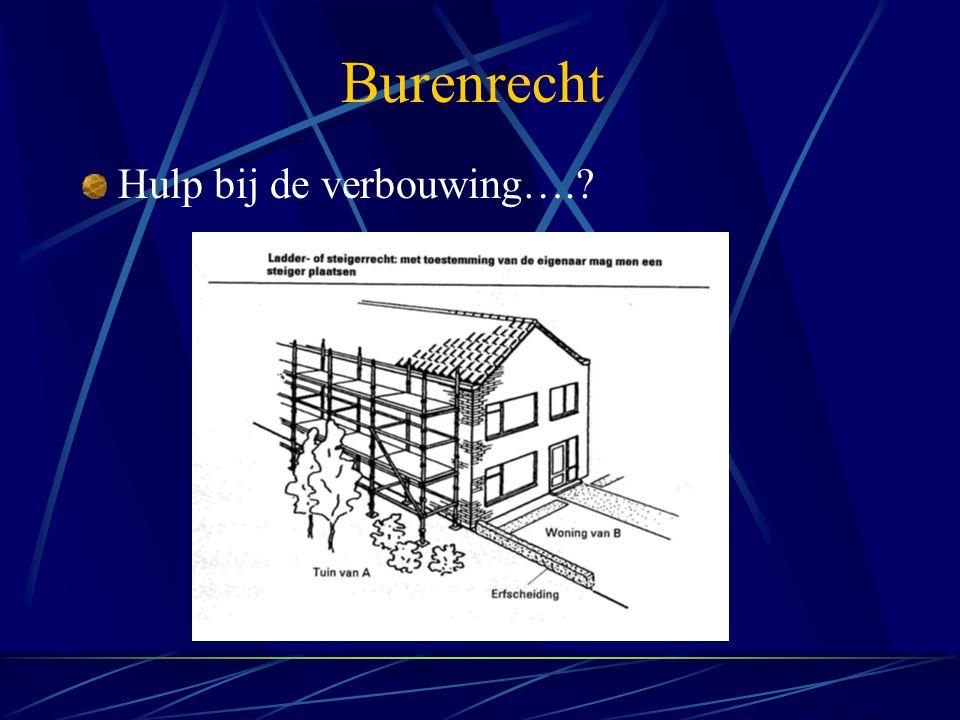 Burenrecht Hulp bij de verbouwing….?