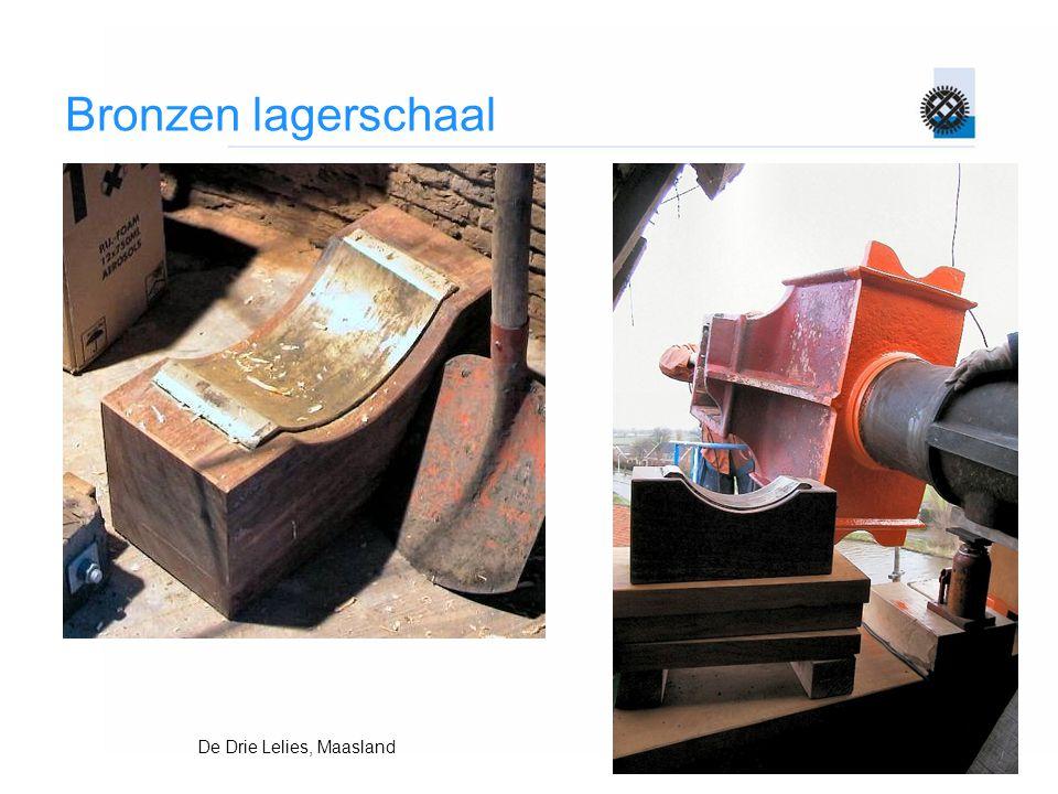 Bronzen lagerschaal De Drie Lelies, Maasland