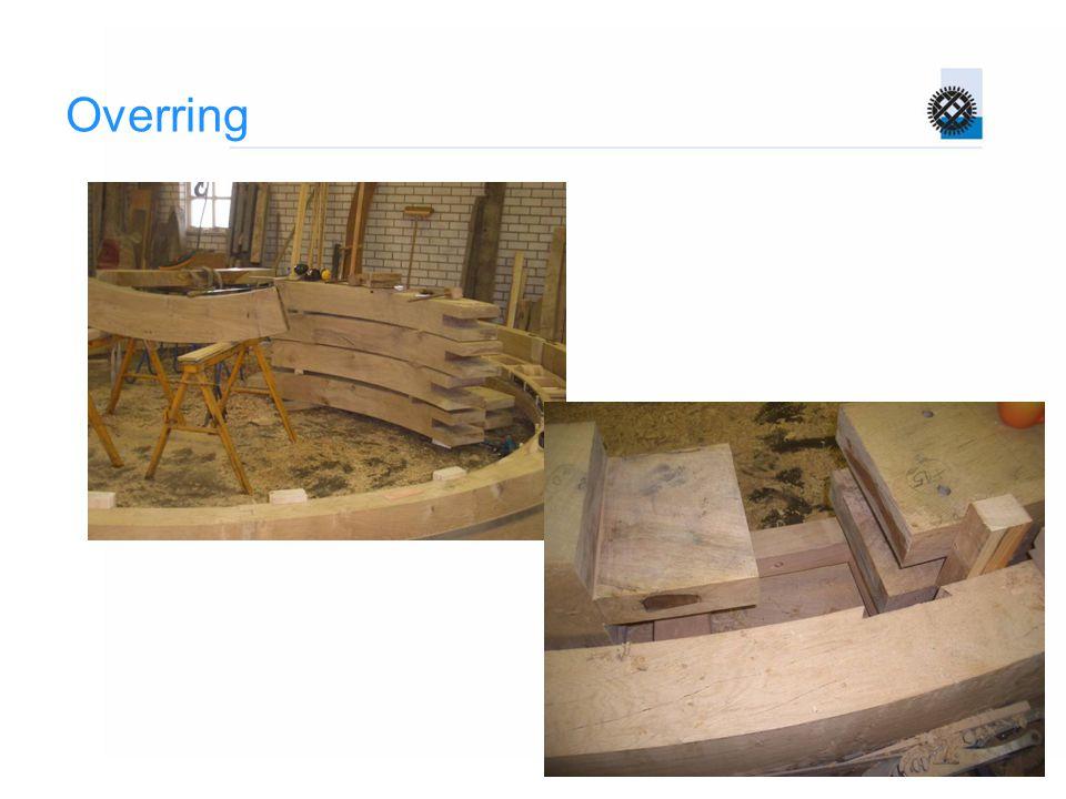 Rollenkruiwerk  Rollen op een asje, asje geborgd tegen draaien  Rol conisch, verlengde loopvlakken komen samen in het midden van de molen  Kruivloer en overring dus ook  Kan eventueel tonvormig  Smeren: asjes, buitenkant overring/rollenwagen