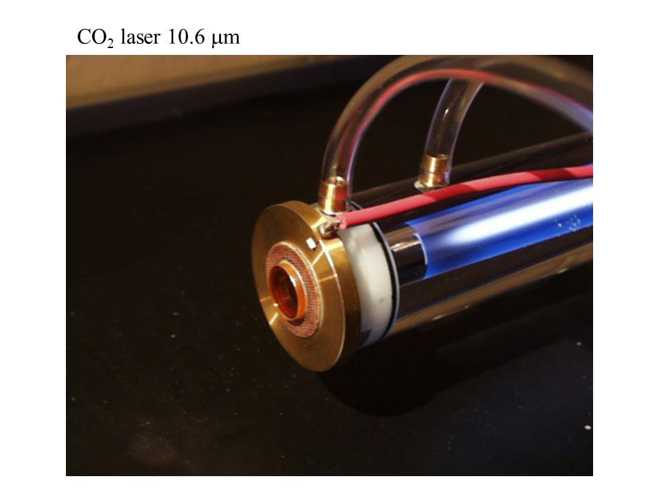 CO 2 laser 10.6  m