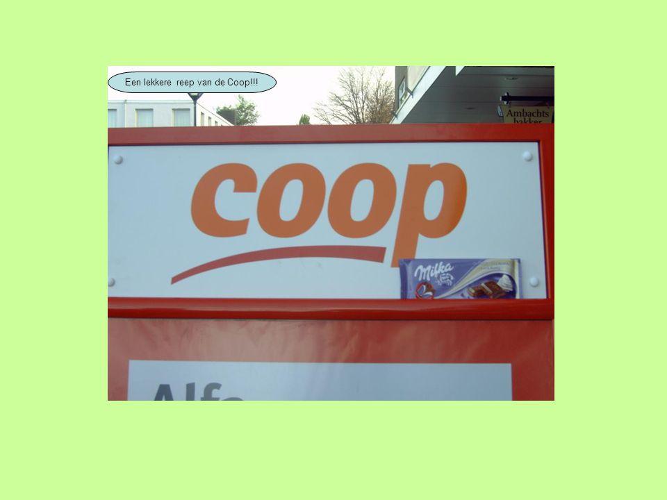 Een lekkere reep van de Coop!!!