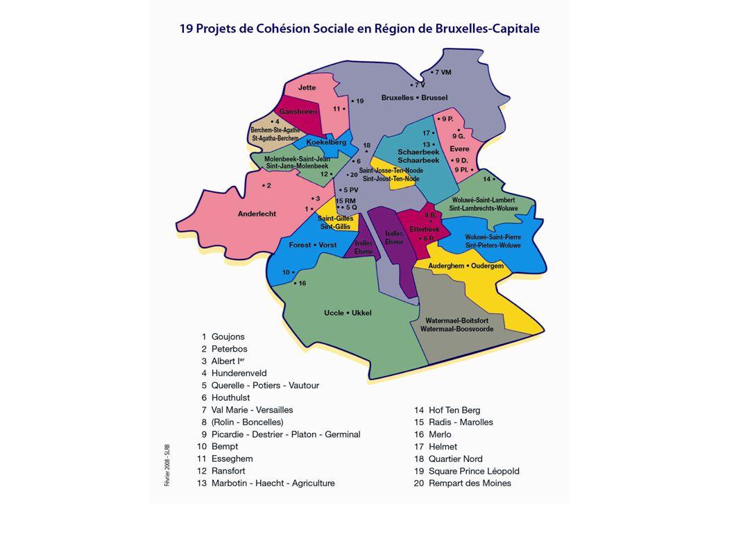 Openbare productie van woningen in het Brussels Hoofdstedelijk Gewest – Periode 1989-2007