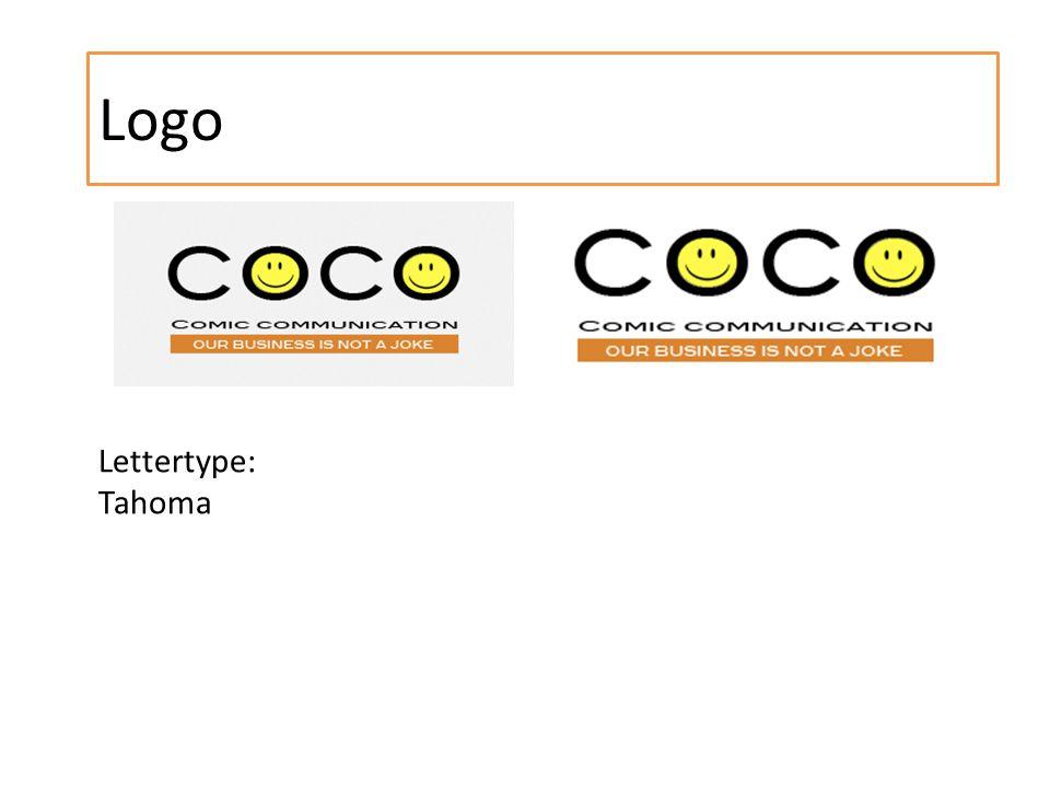 Logo Lettertype: Tahoma