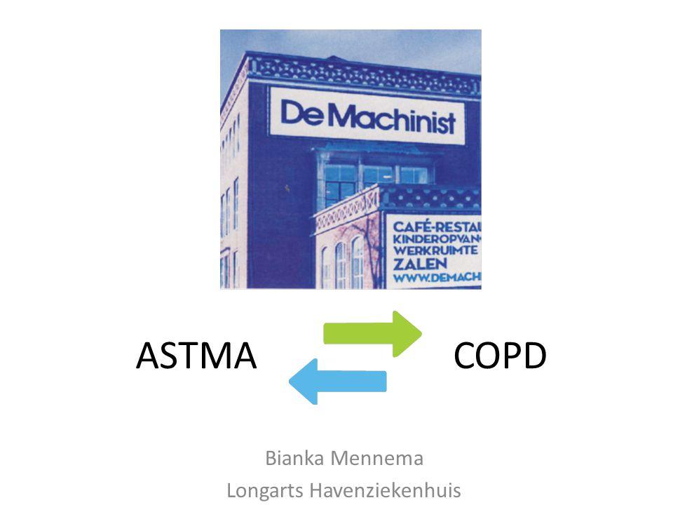 Zorgstandaard De zorgstandaard staat centraal bij de behandeling van astma en COPD Hiermee staat ziektelast centraal en dus de patient ( en niet de dokter )