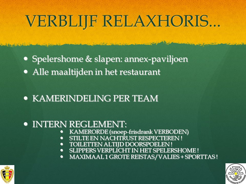 HOTEL RELAXHORIS www.relaxhoris.be www.relaxhoris.be VIRTUELE RONDLEIDING OP DE HOTELSITE VIRTUELE RONDLEIDING OP DE HOTELSITE