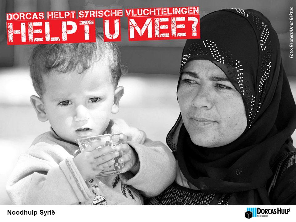 Noodhulp Syrië 1