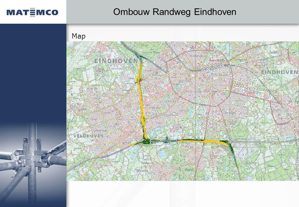 Ombouw Randweg Eindhoven Map