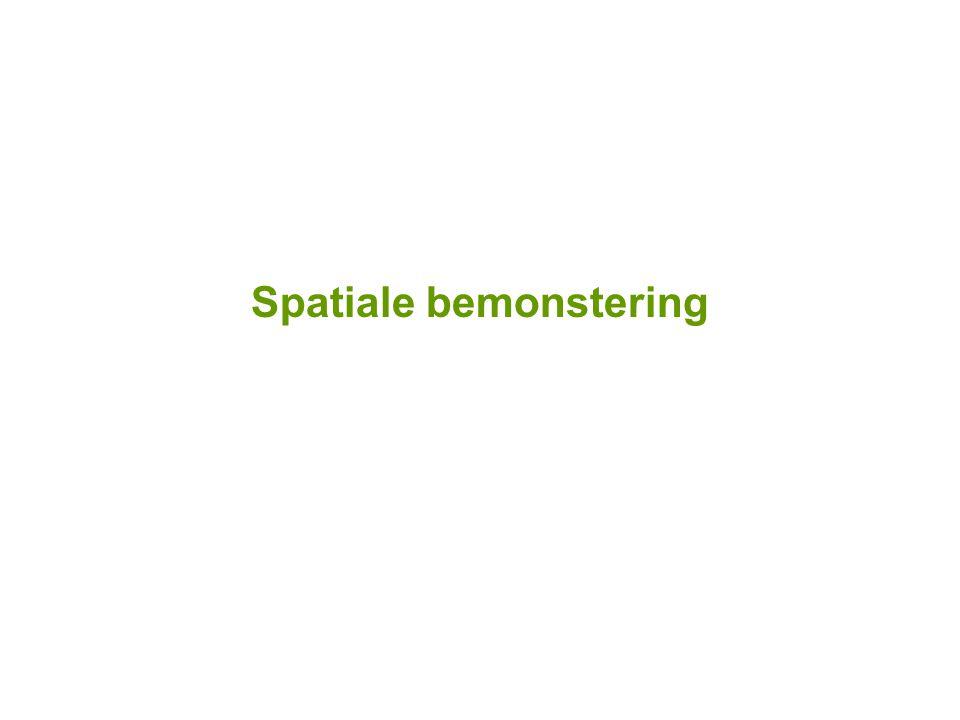 Spatiale bemonstering