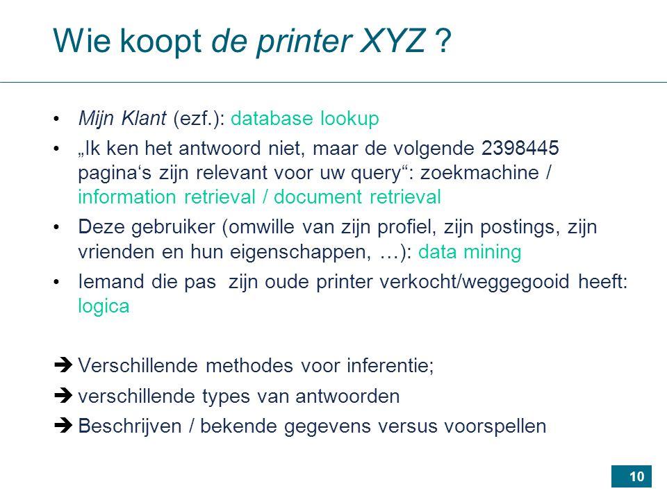 10 Wie koopt de printer XYZ .