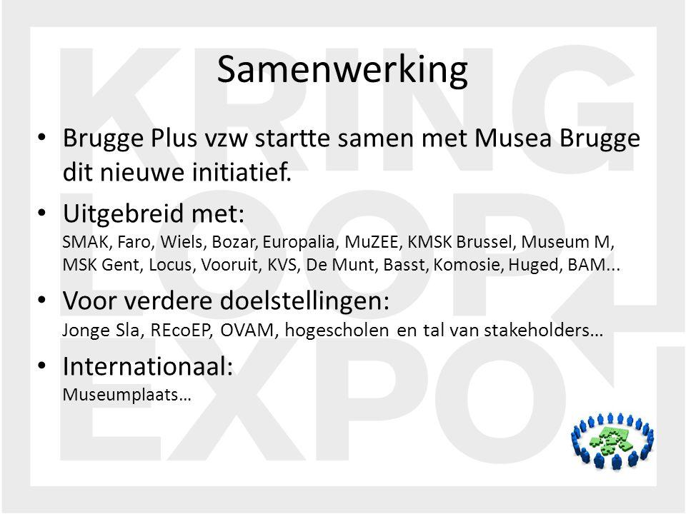 Brugge Plus vzw startte samen met Musea Brugge dit nieuwe initiatief.