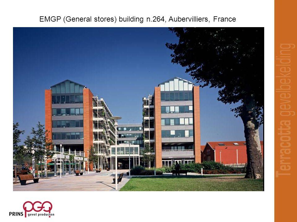 EMGP (General stores) building n.264, Aubervilliers, France