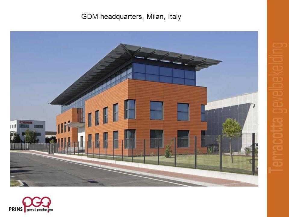 GDM headquarters, Milan, Italy