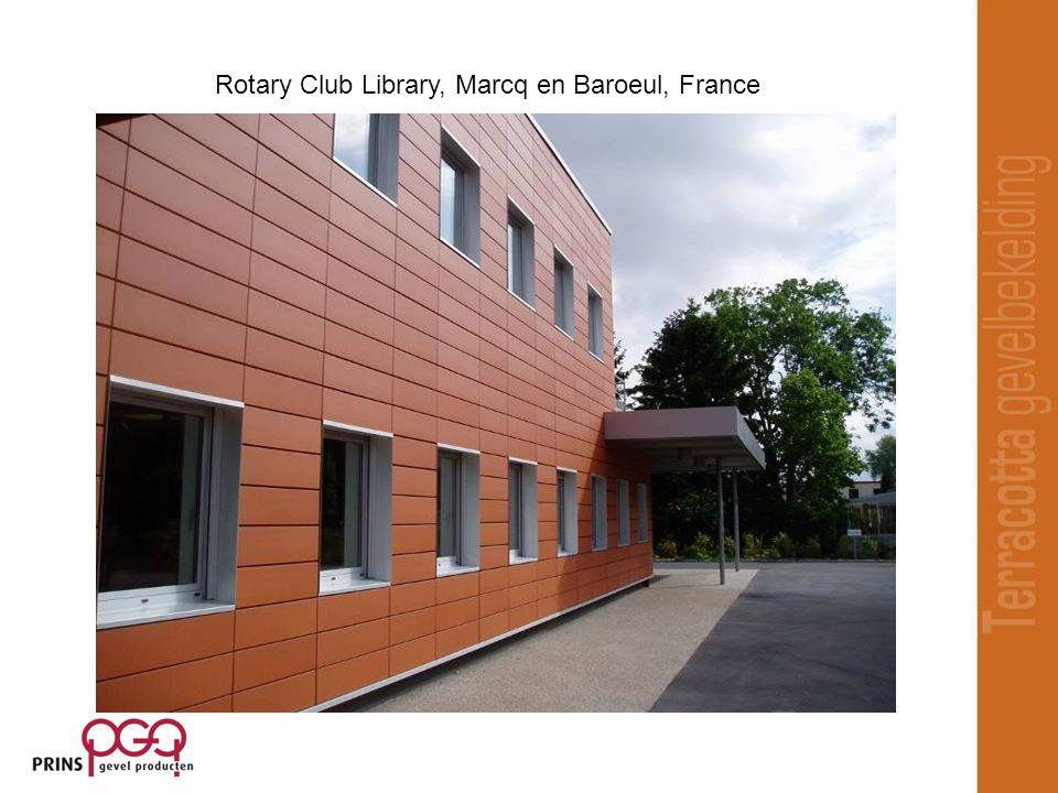 Rotary Club Library, Marcq en Baroeul, France
