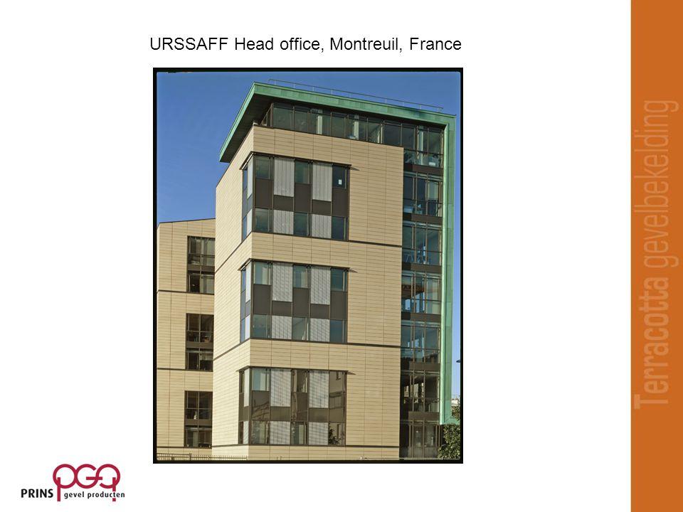 URSSAFF Head office, Montreuil, France