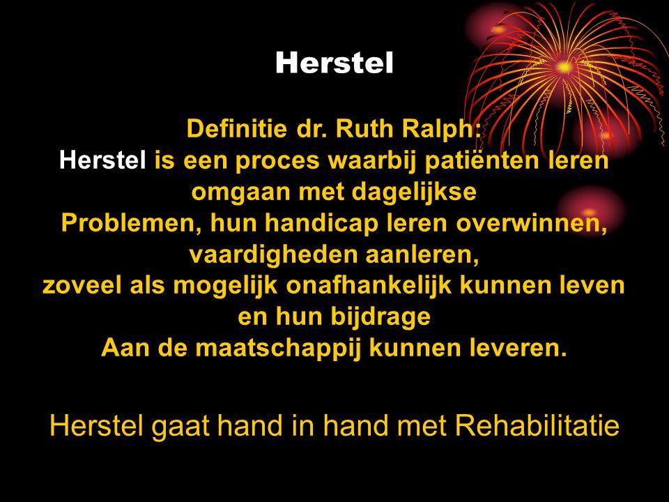 Herstel Definitie dr.