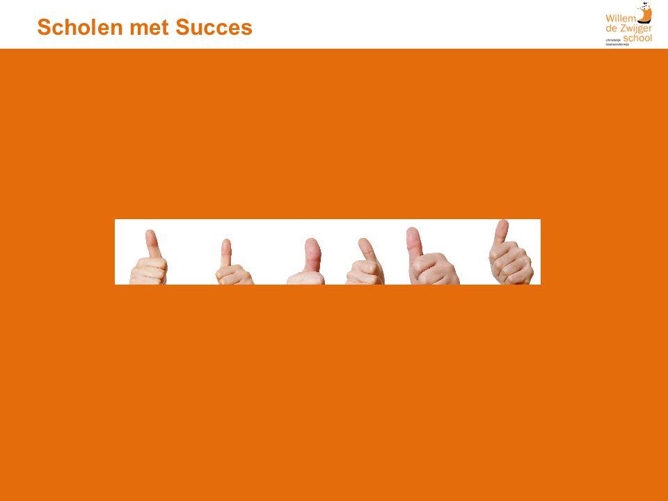 Scholen met Succes In tegenstelling tot de ouders van de andere scholen in de analyse vinden de ouders van onze school 'Begeleiding' het e
