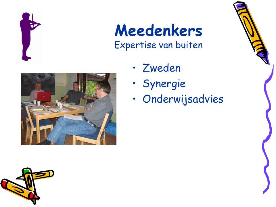 Meedenkers Expertise van buiten Zweden Synergie Onderwijsadvies