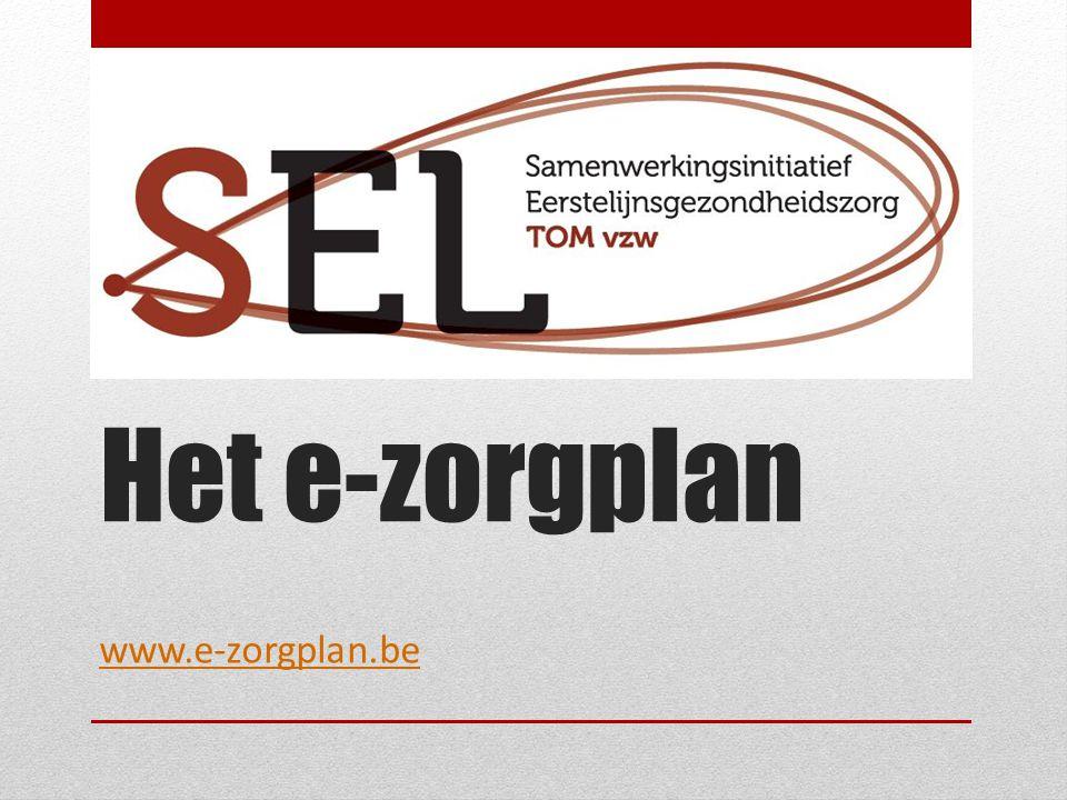 Het e-zorgplan www.e-zorgplan.be