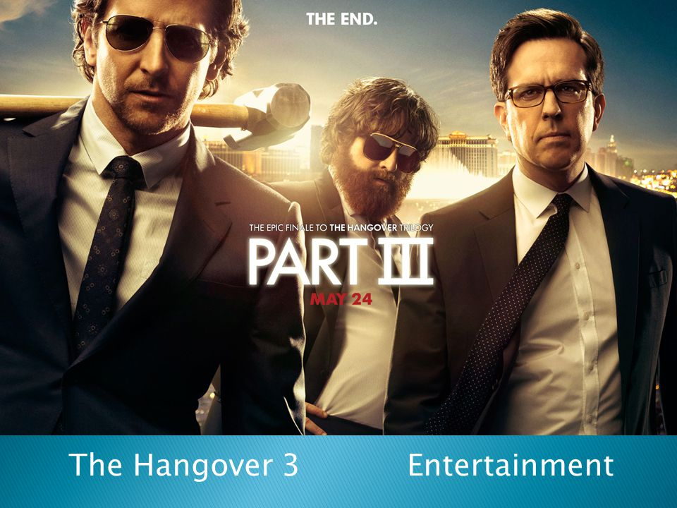 The Hangover 3 Entertainment