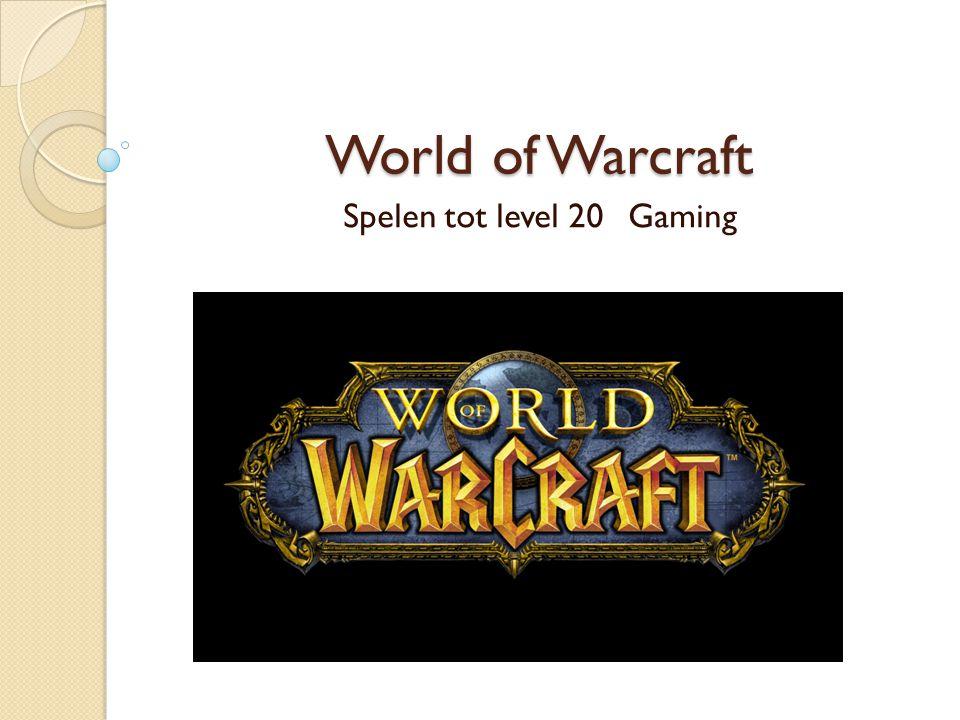 Verwachtingen vooraf Ik heb World of Warcraft gespeeld toen de Burning Crusade net uit kwam.