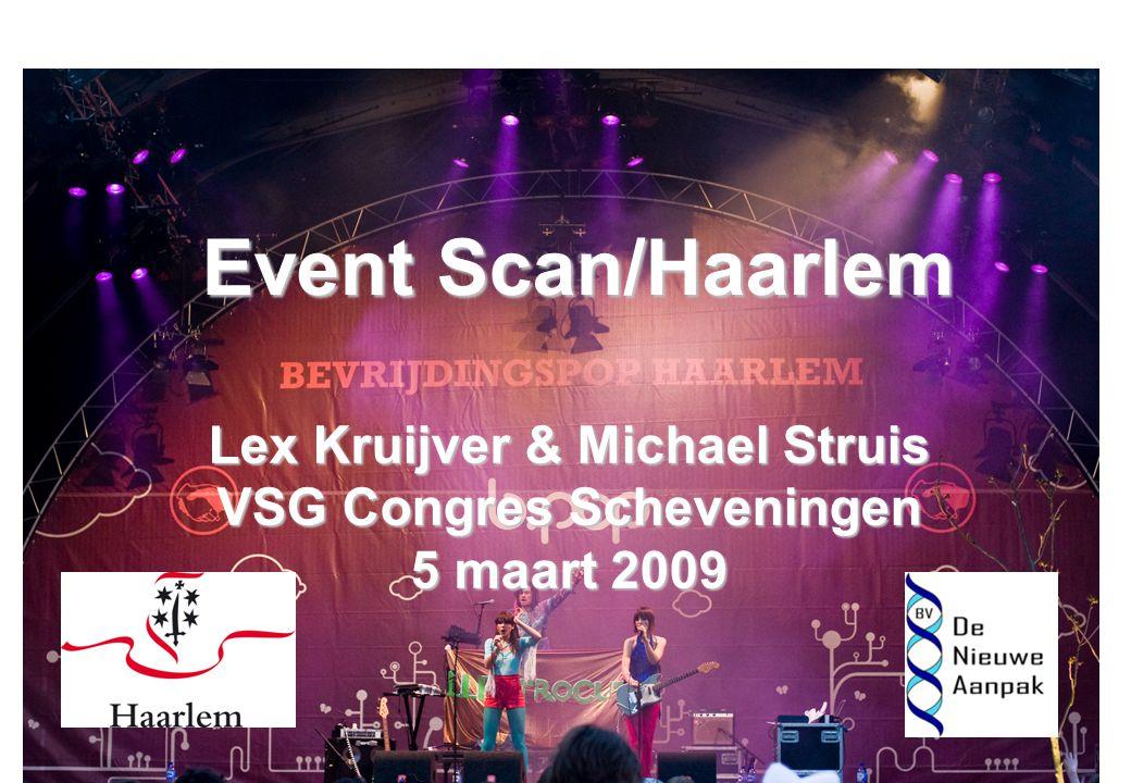 Event Scan/Haarlem Lex Kruijver & Michael Struis VSG Congres Scheveningen 5 maart 2009