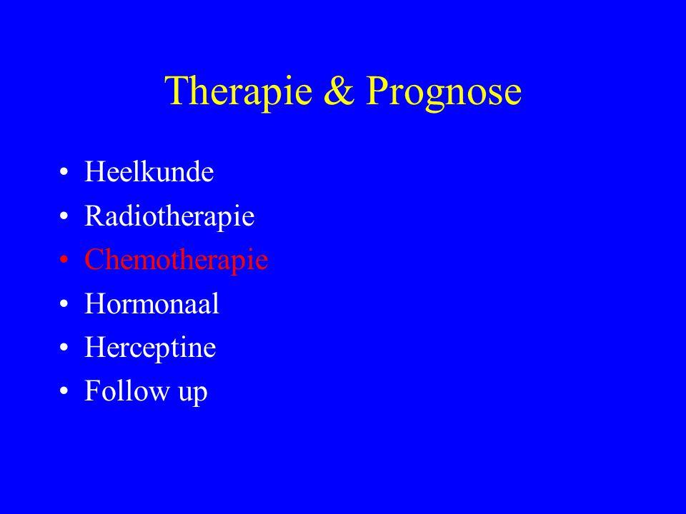 Therapie & Prognose Heelkunde Radiotherapie Chemotherapie Hormonaal Herceptine Follow up