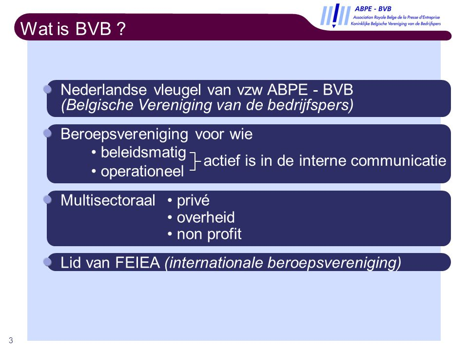 4 Wat doet BVB .