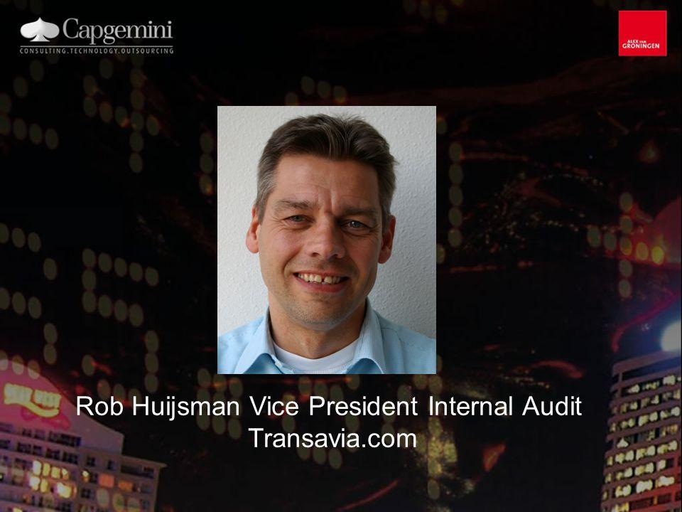 Jan Immink Principal Consultant Capgemini Consulting
