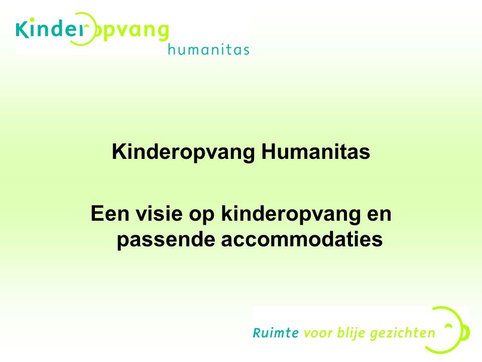 Even voorstellen Anja Hol Voorzitter Raad van bestuur Kinderopvang Humanitas -300 kinderopvanglocaties -2600 medewerkers -Omzet €100 miljoen