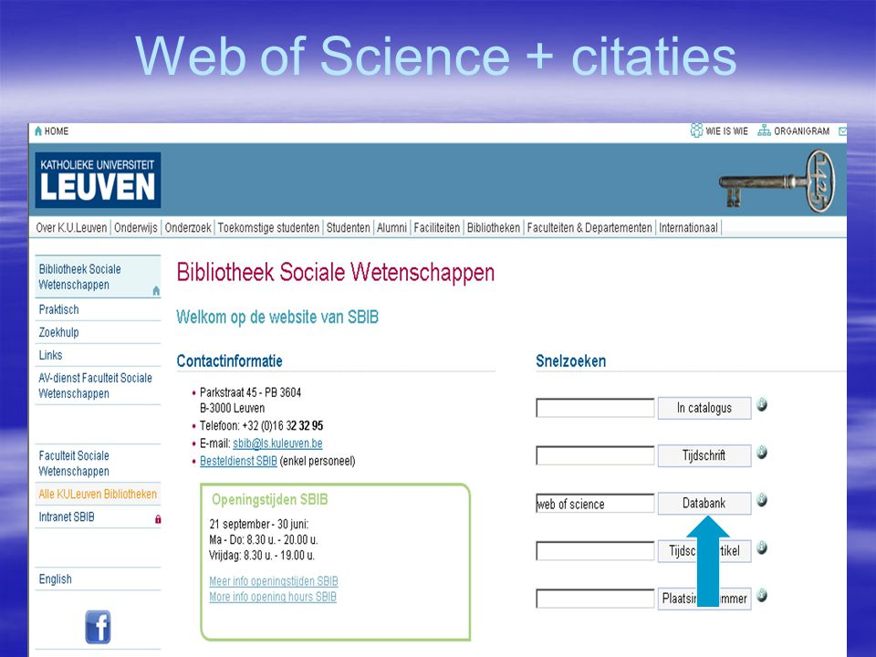 Web of Science + citaties