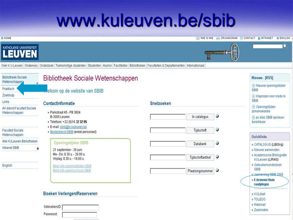 www.kuleuven.be/sbib