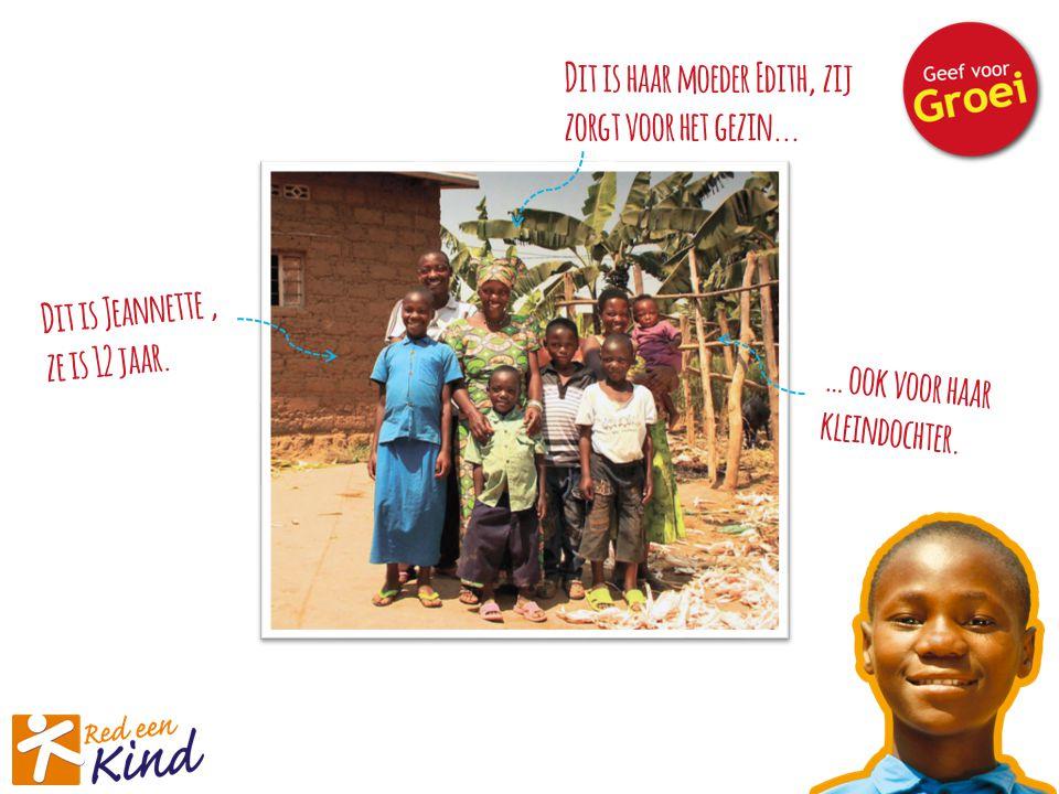 Edith zit in een zelfhulpgroep, samen met andere vrouwen uit het dorp.
