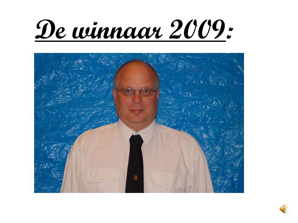 De winnaar 2009: