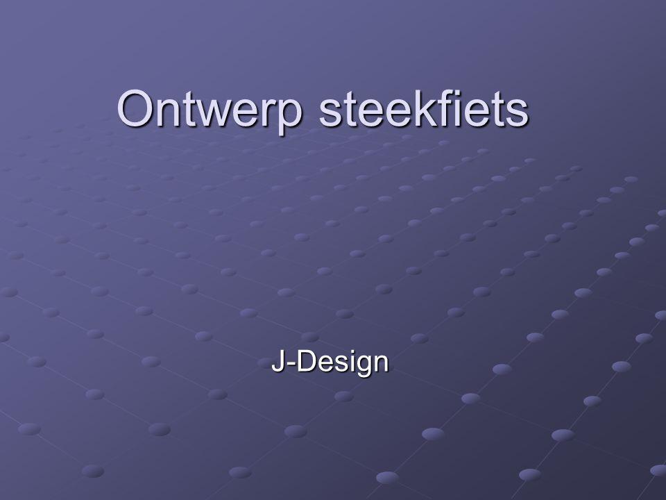 Ontwerp steekfiets J-Design