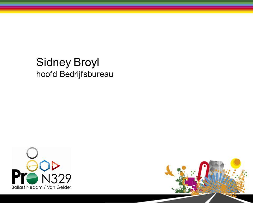 Sidney Broyl hoofd Bedrijfsbureau