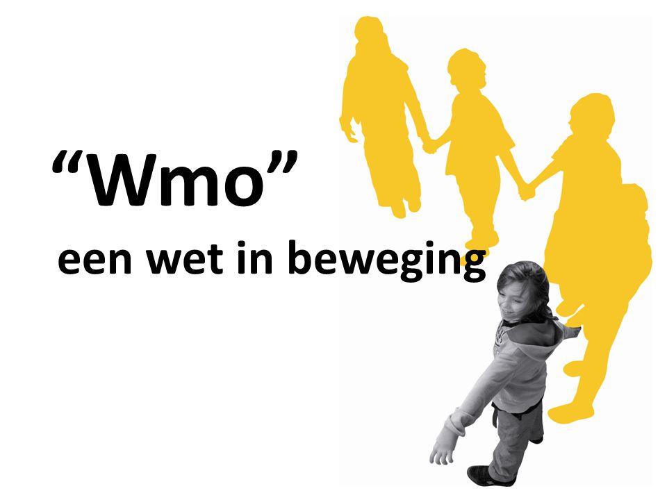 Presentatie sub groep RCM102009.55 Wmo, een wet in beweging 1210-11-2009