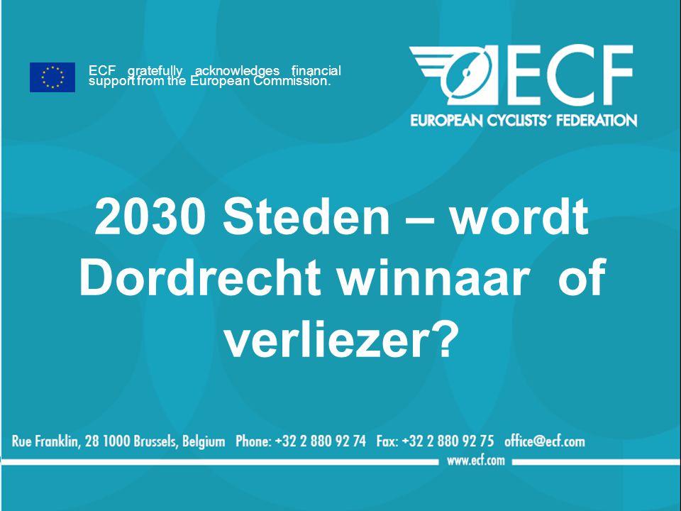 2030 Steden – wordt Dordrecht winnaar of verliezer.