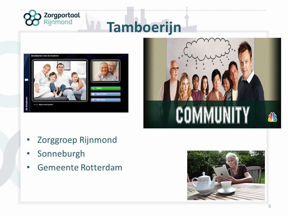 8 Tamboerijn Zorggroep Rijnmond Sonneburgh Gemeente Rotterdam