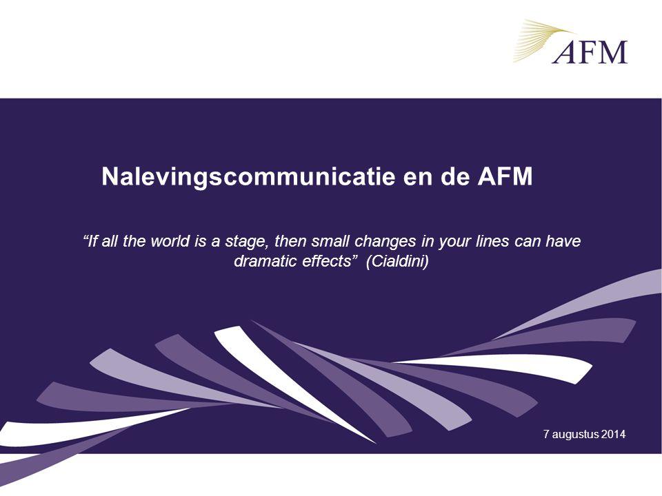 7 augustus 2014 Presentatie Inspectieraad april 20112 Programma Voorstel rondje Wat is onze voorkeurstijl om regelnaleving te bevorderen.