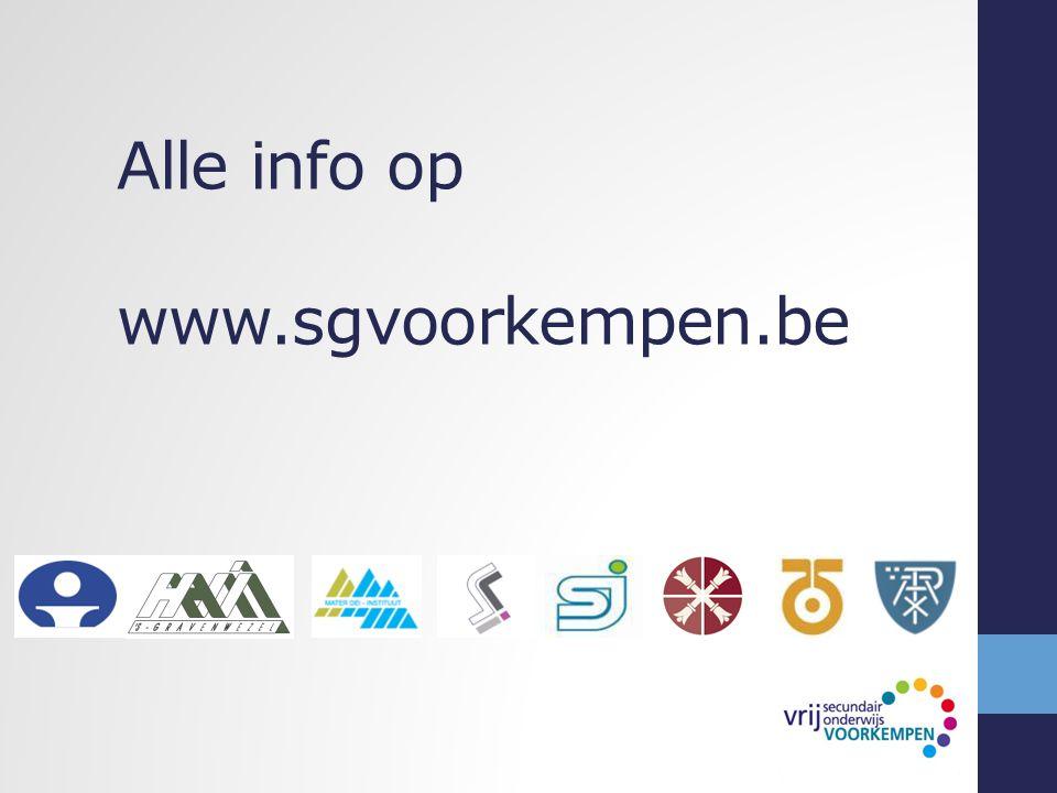 Alle info op www.sgvoorkempen.be