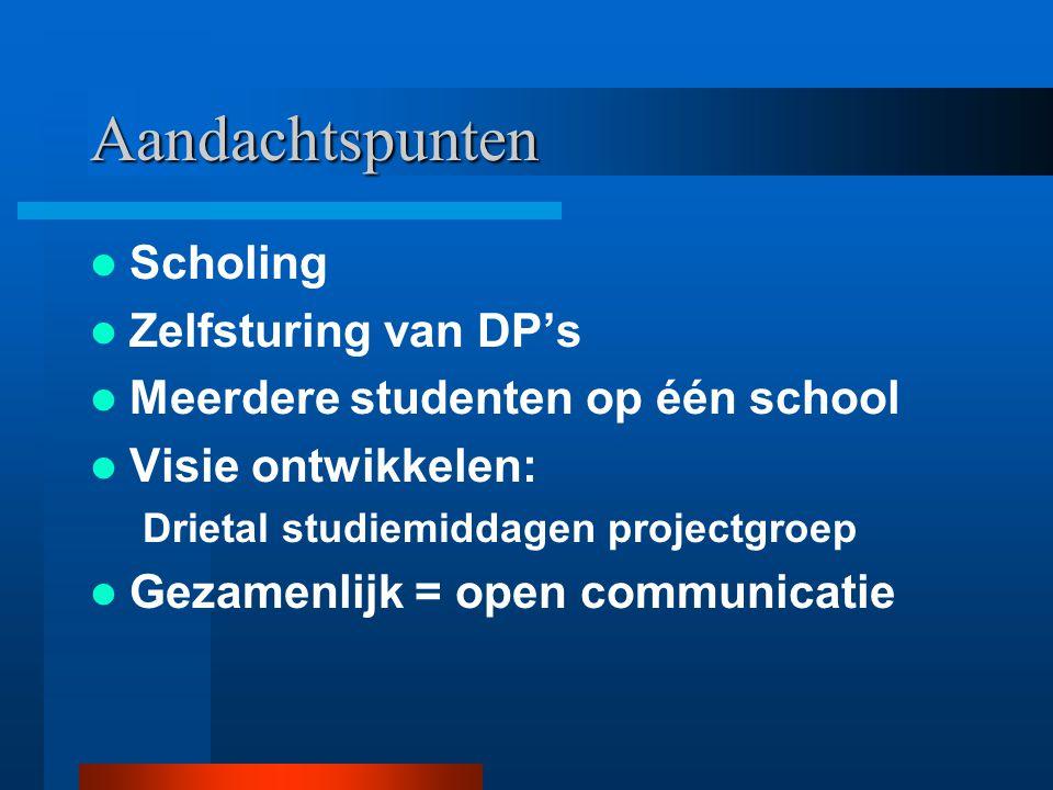 OPLEIDEN IN DE SCHOOL Project Focus-Fontys 'Het mes snijdt aan twee kanten'