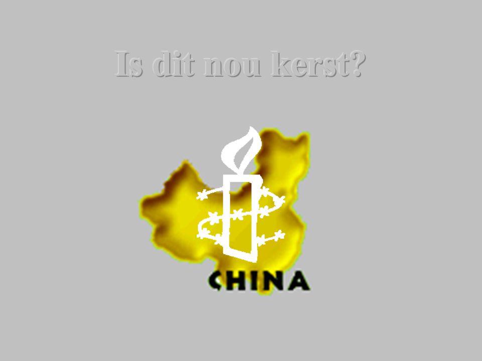 China een land van tegenstellingen Een rijke cultuur, een eeuwen oude geschiedenis, veel traditie, een pracht natuur, VERVOLGING… en ….