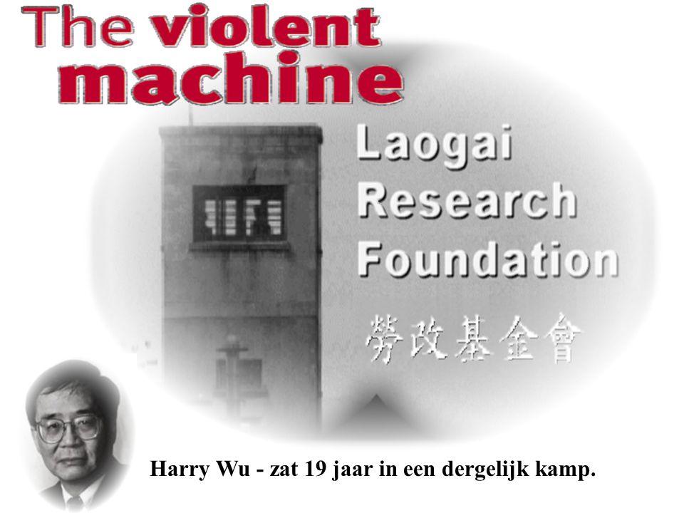 Harry Wu - zat 19 jaar in een dergelijk kamp.