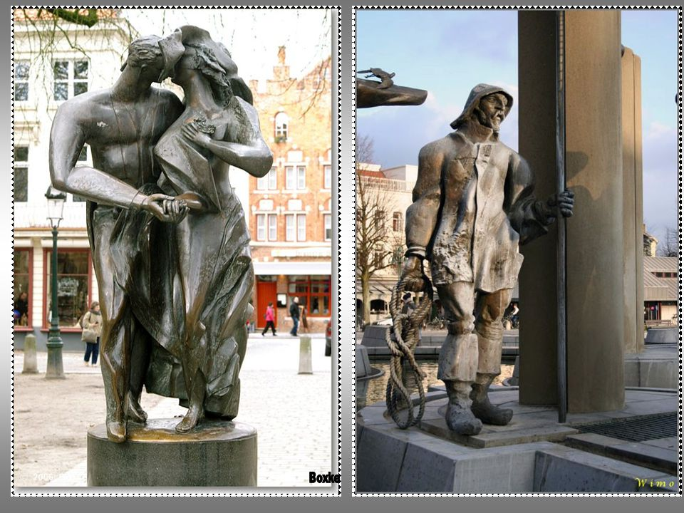 BREUGHELIAANS BRUGGE Stad van zielgeworden stenen die Brugge een Breugheliaans hart verlenen verwekt uit Breydels- en Koningsgenen eeuwig aardig, Vlaanderen waardig.