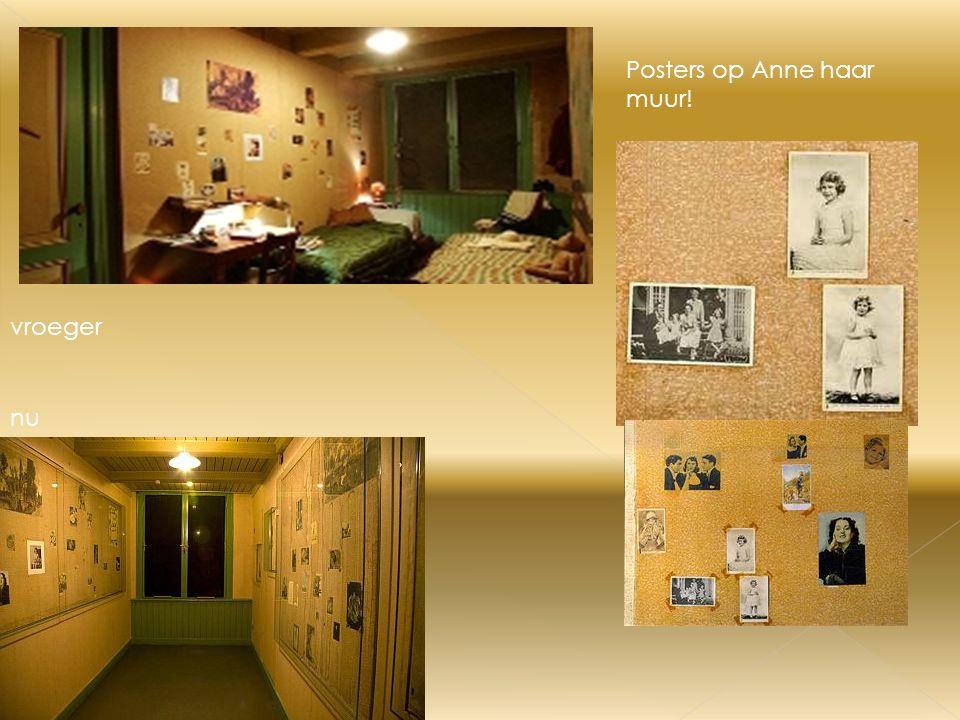 Het achterhuis van nu en van vroeger nu vroeger