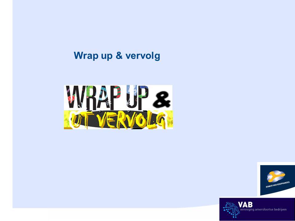 Wrap up & vervolg