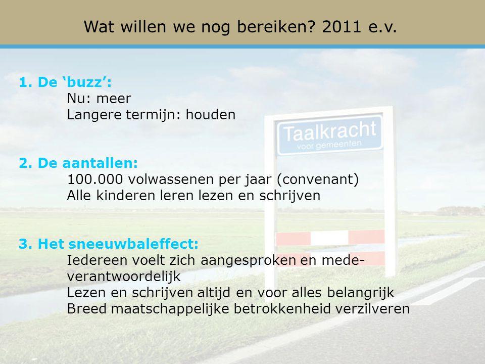 Het regeerakkoord Actieplan Laaggeletterdheid en Aanvalsplan Basisvaardigheden in Nederland Participatiebudget Landelijke ontwikkelingen